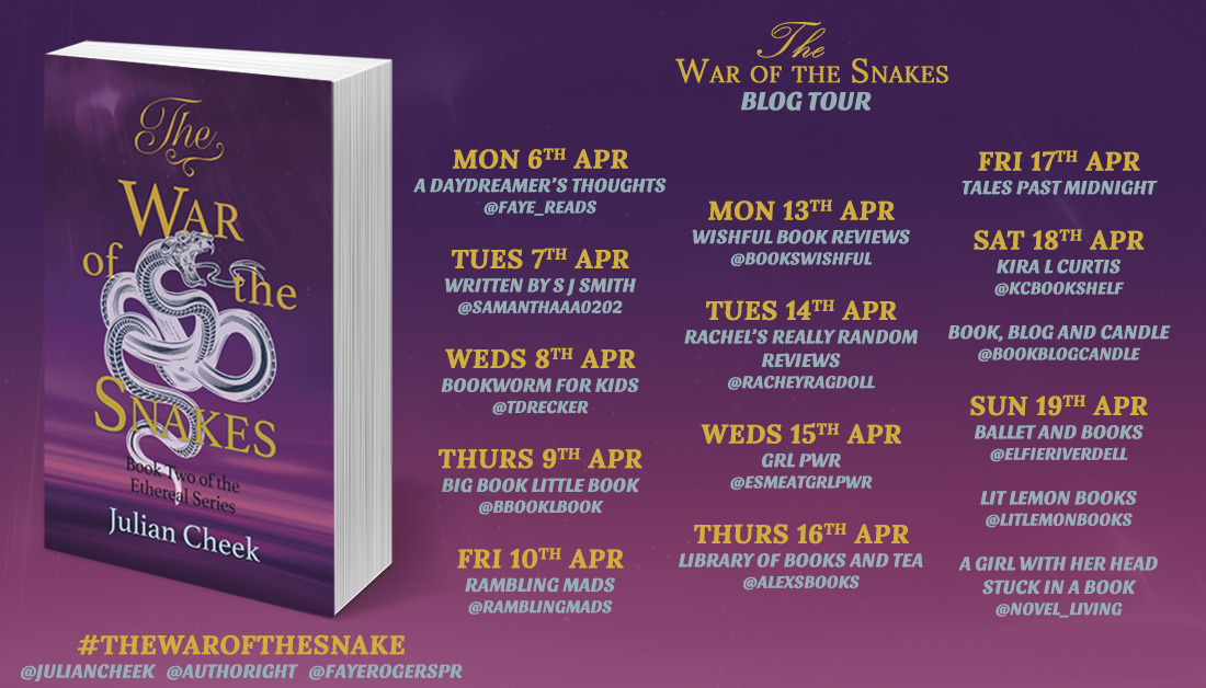 War of the Snakes blog tour