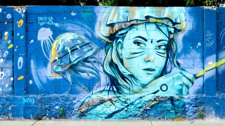 Street Art in Playa del Carmen,Mexico