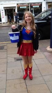 supergirl, fundraising, charity, childreach international, kilimanjaro, tanzania, student, rag