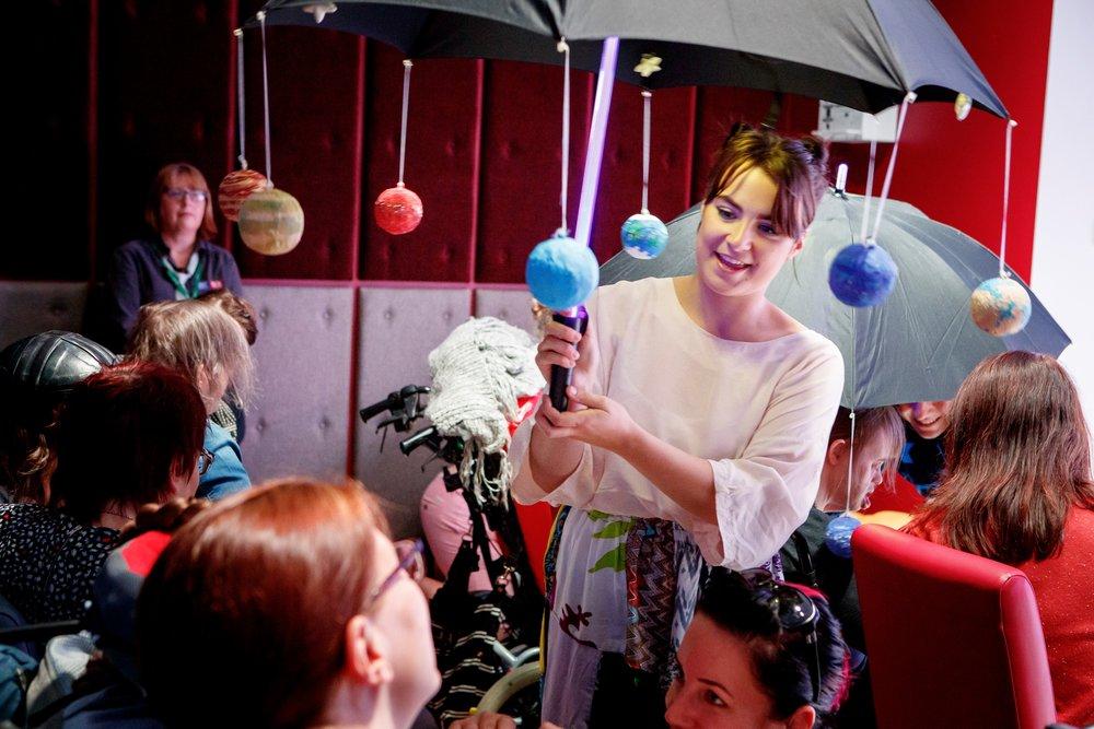Annabel Streeton as Lena. Photo:  Mark Kensett