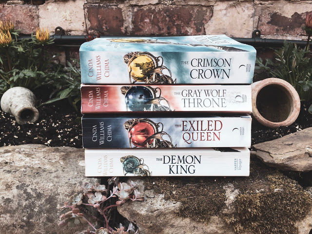 REVIEW – Seven Realms series by Cinda Williams Chima